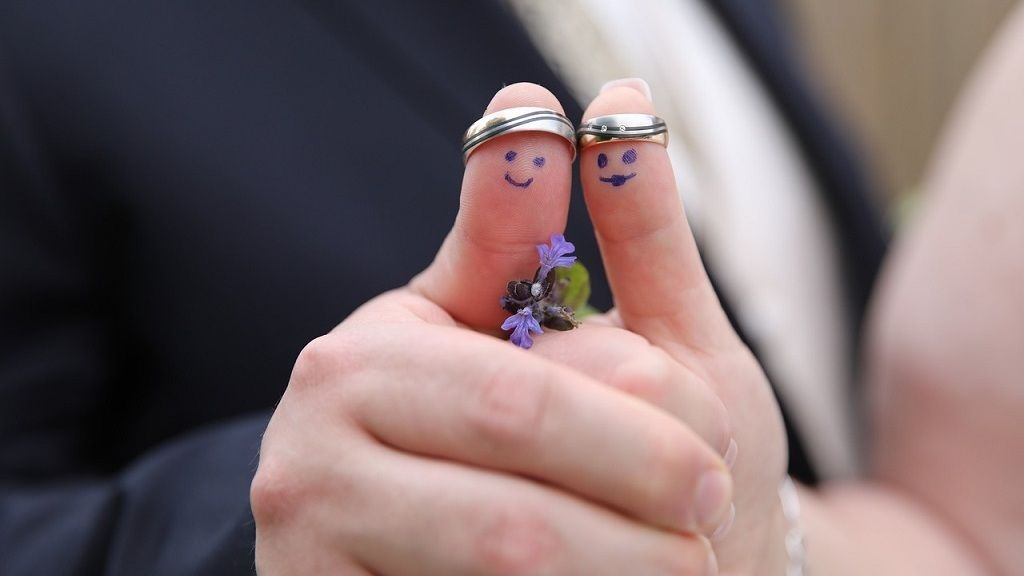 Dupla esküvőt tartottak a testvérpárok.