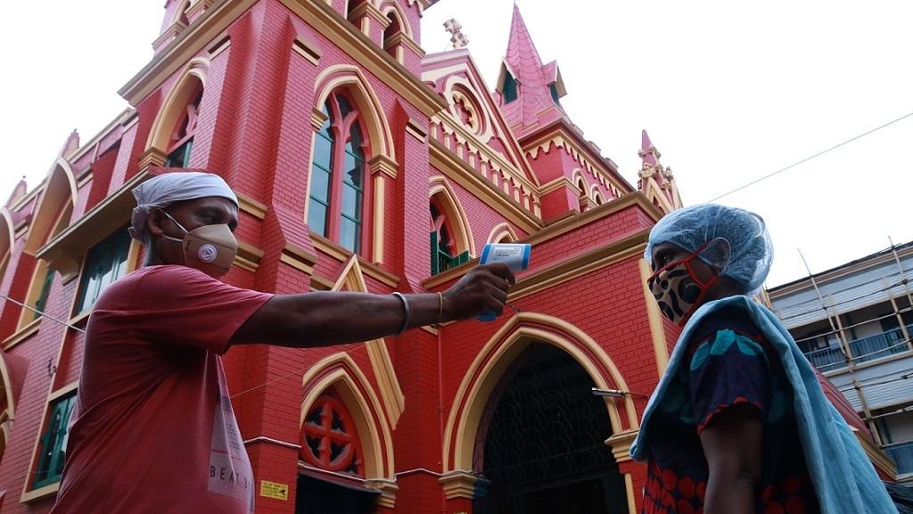 A koronavírus Indiában - Fotó: Getty