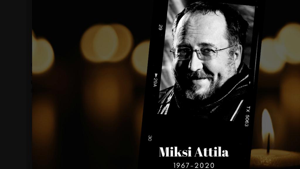 Miksi Attila - Fotó: Győri Nemzeti Színház Facebook