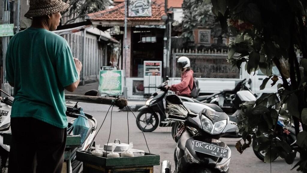 Az indonéz motortaxik folyamatosan mennek (Illusztráció: Pexels.com)