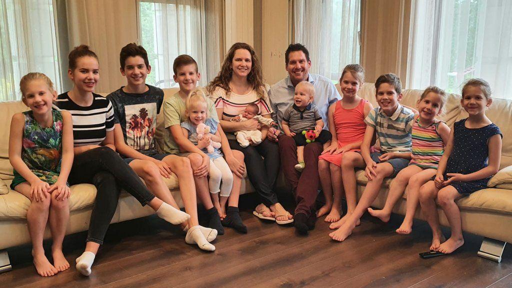 Joób család 11 gyerek
