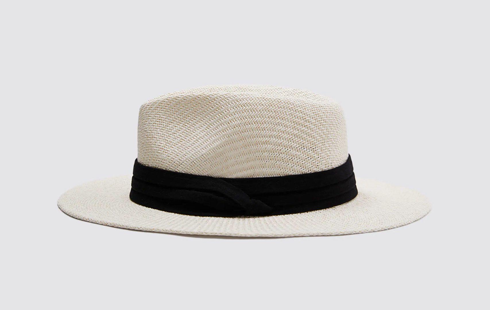 kalap kontrasztos szegéllyel - Zara