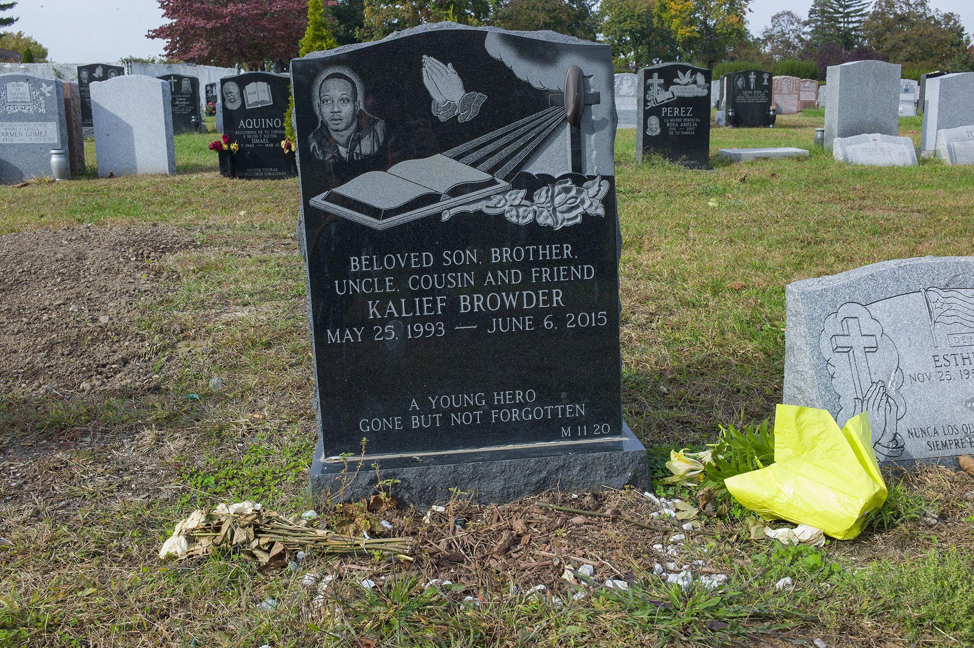 Kalief sírja New Jerseyben (fotó: Andrew Lichtenstein/Corbis via Getty Images)