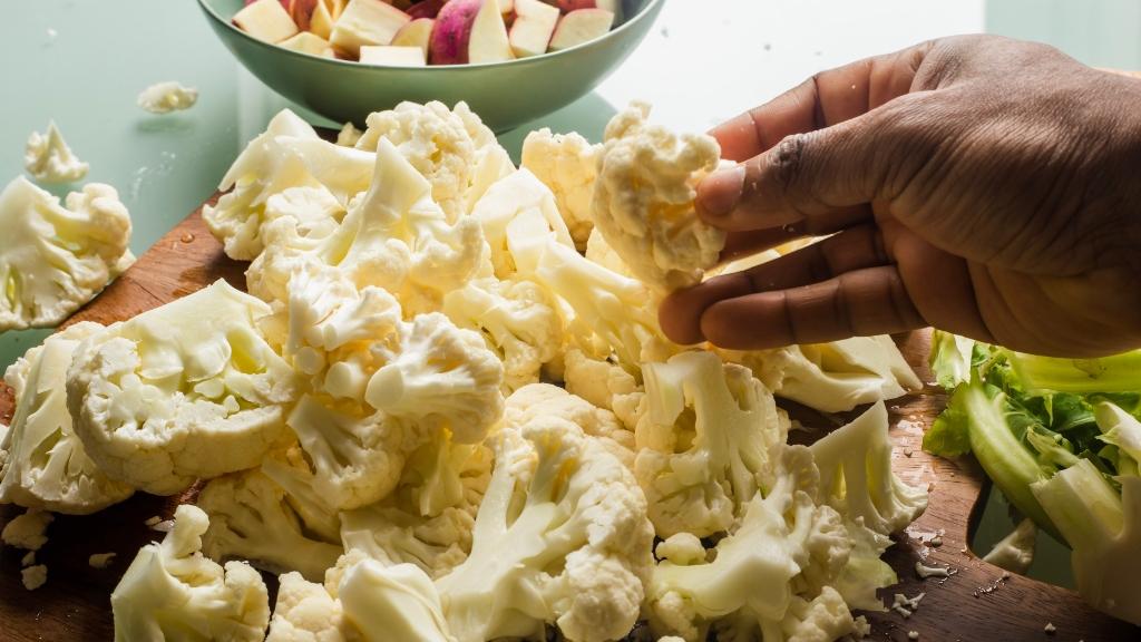 Készíts egészséges köreteket karfiolból!