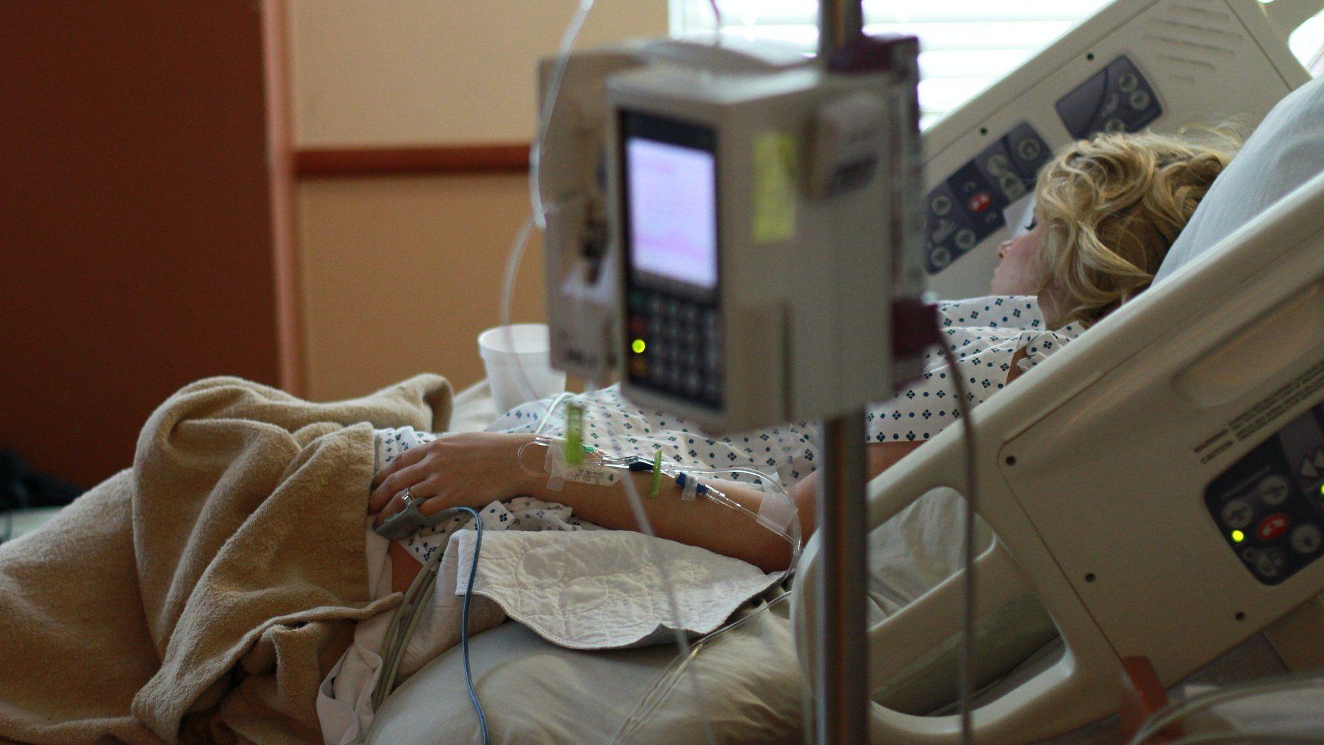 kórház beteg