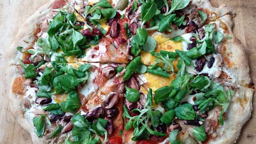 Házi kovászos pizza
