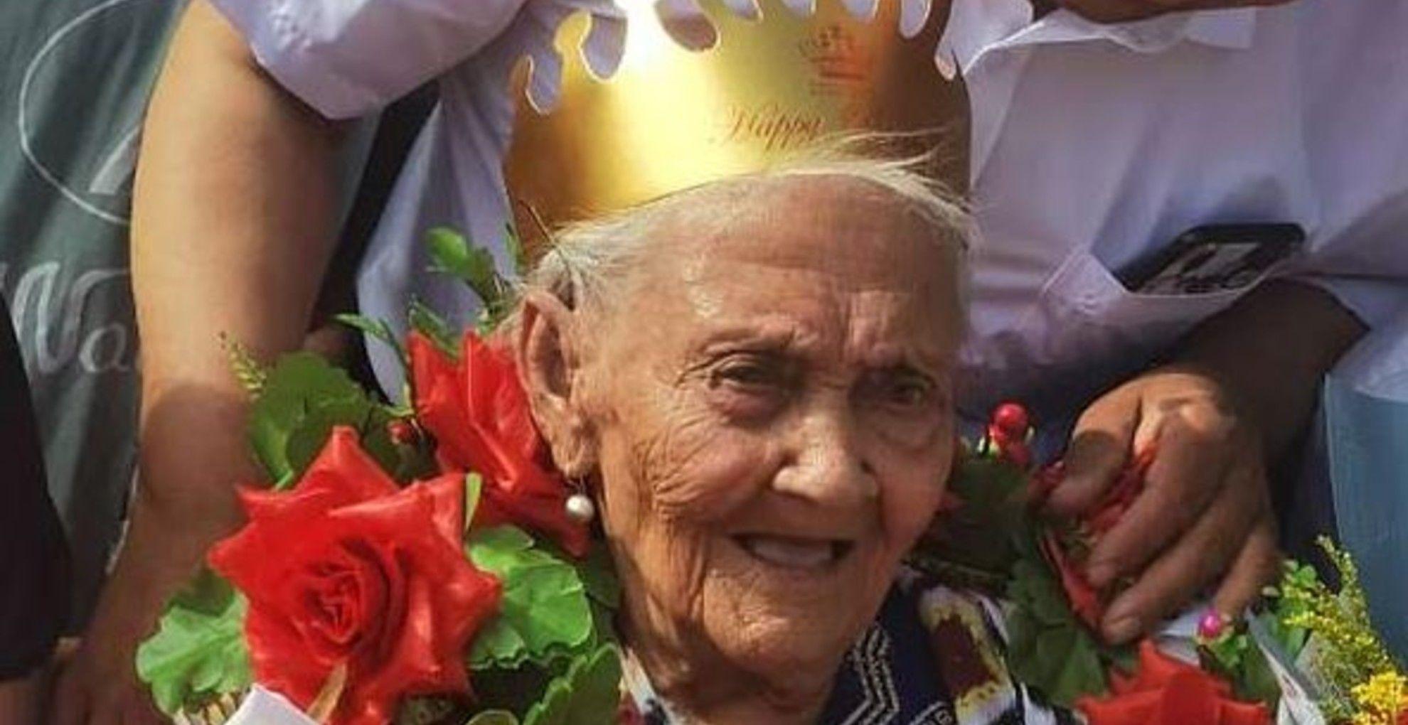 134 éves lett a világ legidősebb embere.