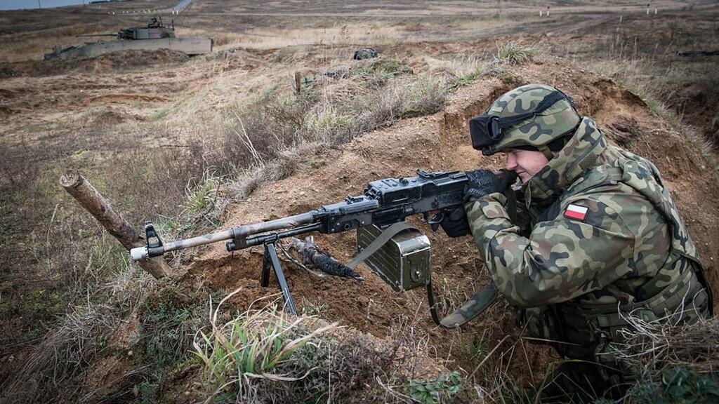 Lengyel katona egy 2013-as NATO-gyakorlaton (Fotó: Wikipédia)