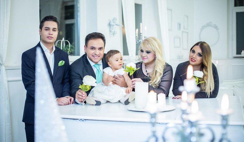 Mága Zoltán és a családja