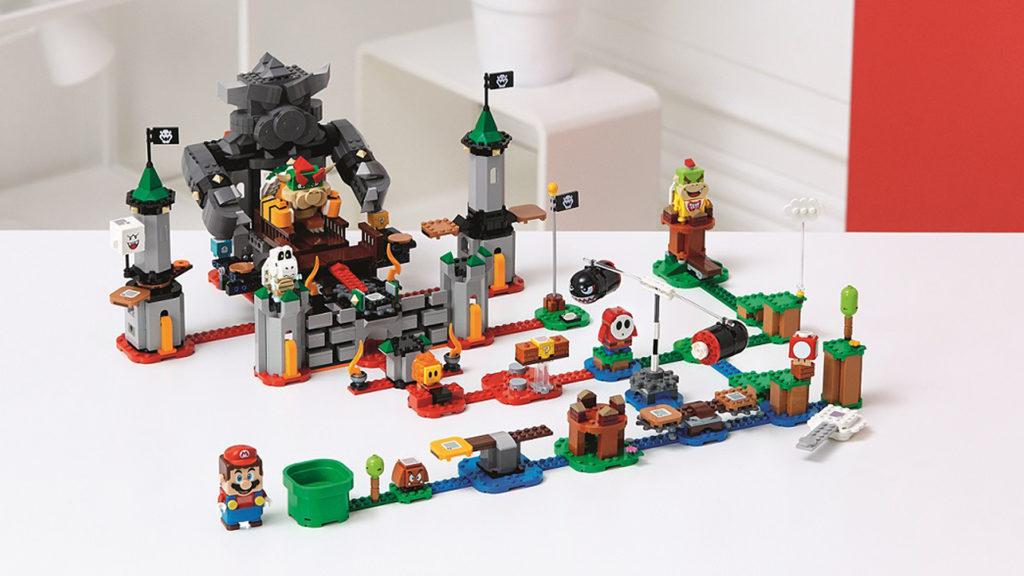 A LEGO Super Mario pályákat mindenki tetszés szerint kombinálhatja