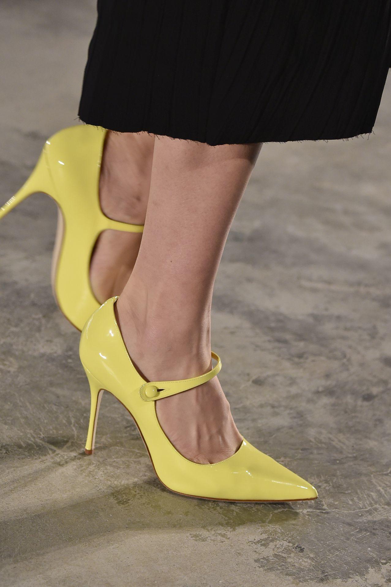 sárga Mary Jane cipő - Jason Wu Collection