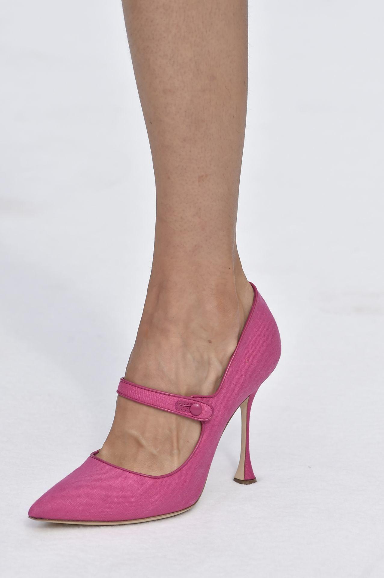 pink Mary Jane magassarkú - Carolina Herrera