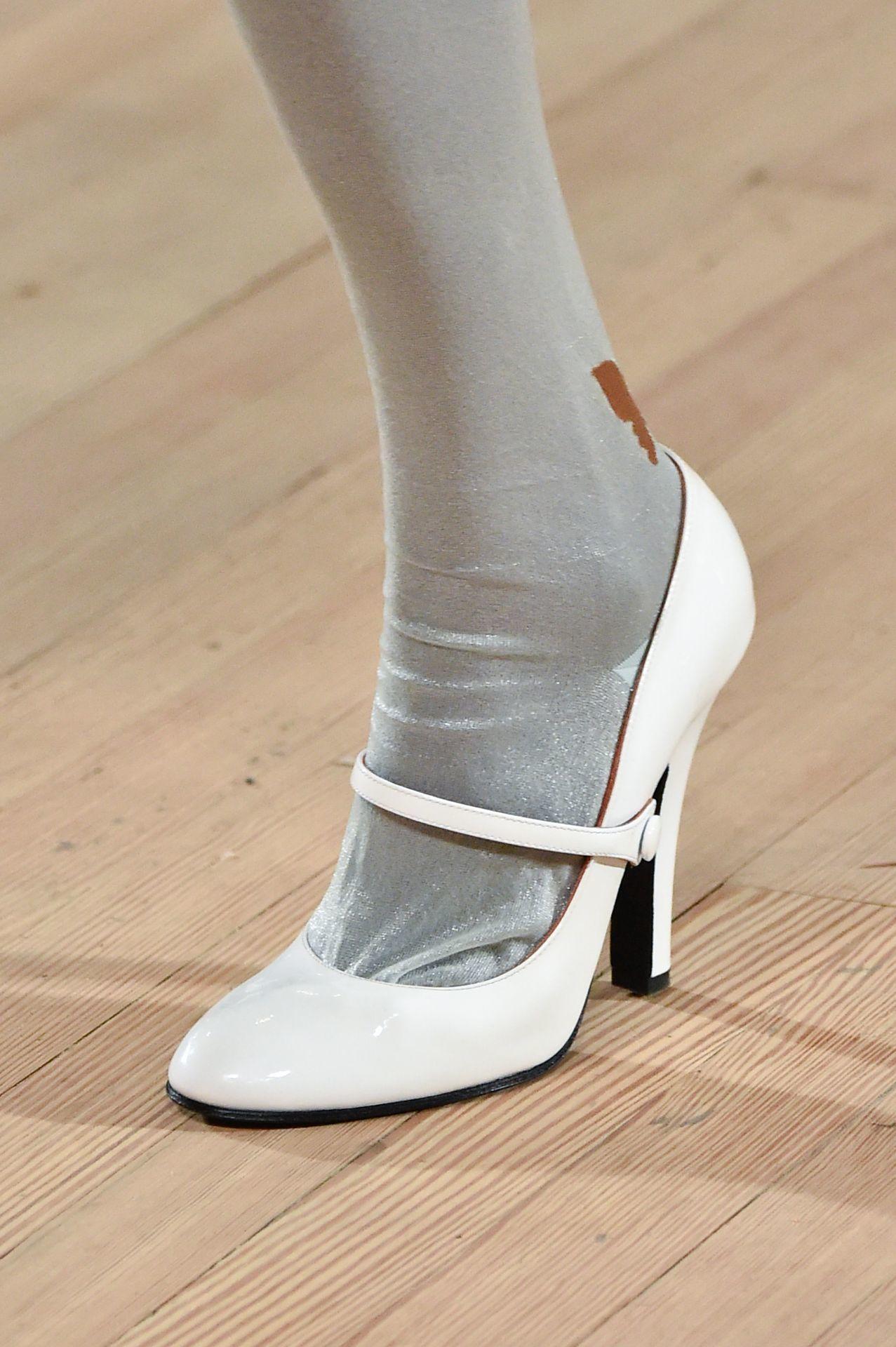 fehér Mary Jane magassarkú - Marc Jacobs
