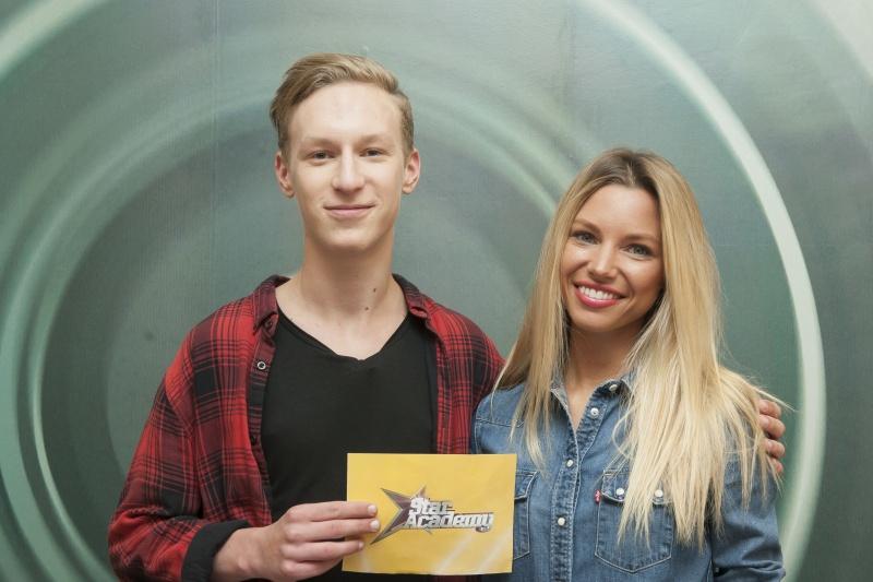 Miskovits Marci és Nagy Réka a Star Academy című műsorban (Fotó: TV2)