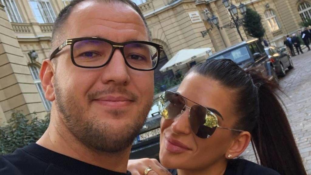 Curtis és felesége Kriszti