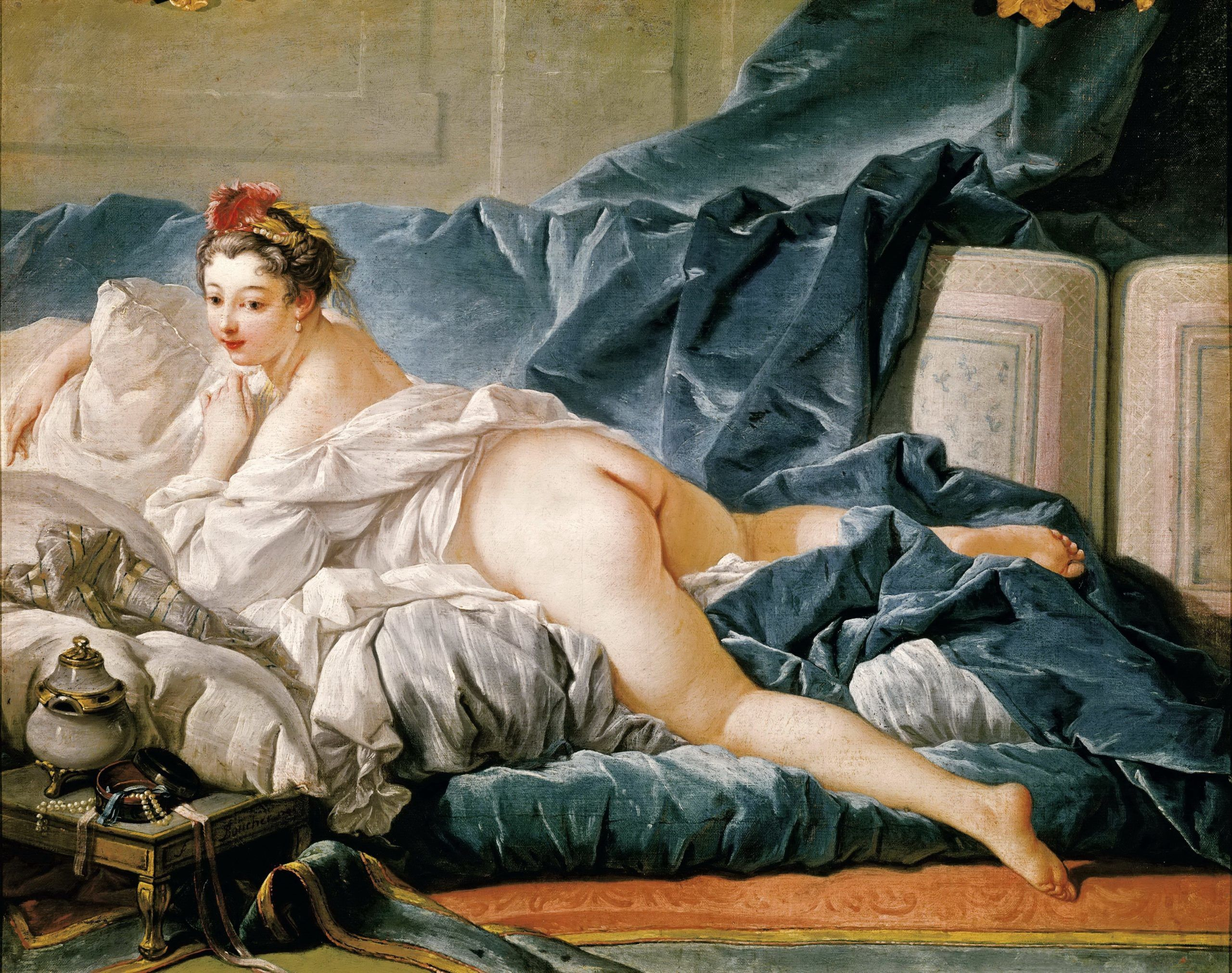Boucher: Barna Odaliszk (1745)