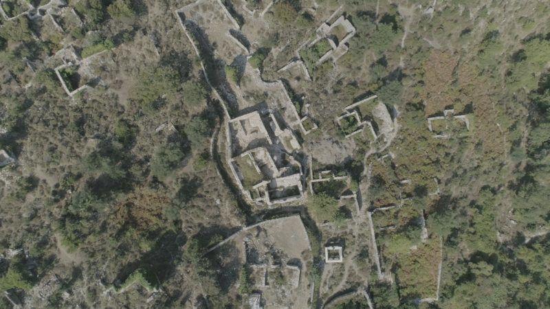 Tragjas, az elhagyatott ősi falu