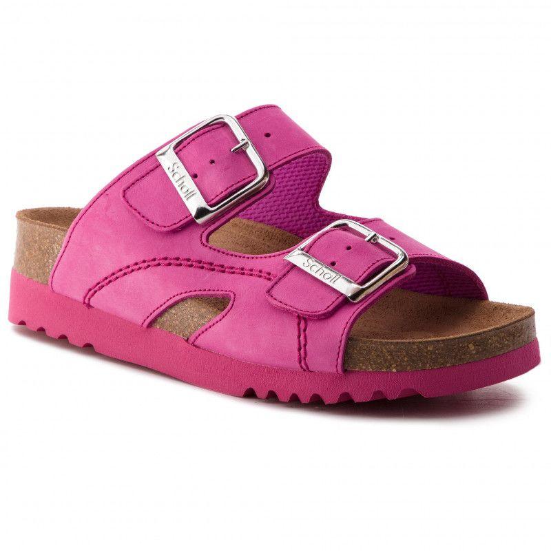 pink csatos papucs - Scholl