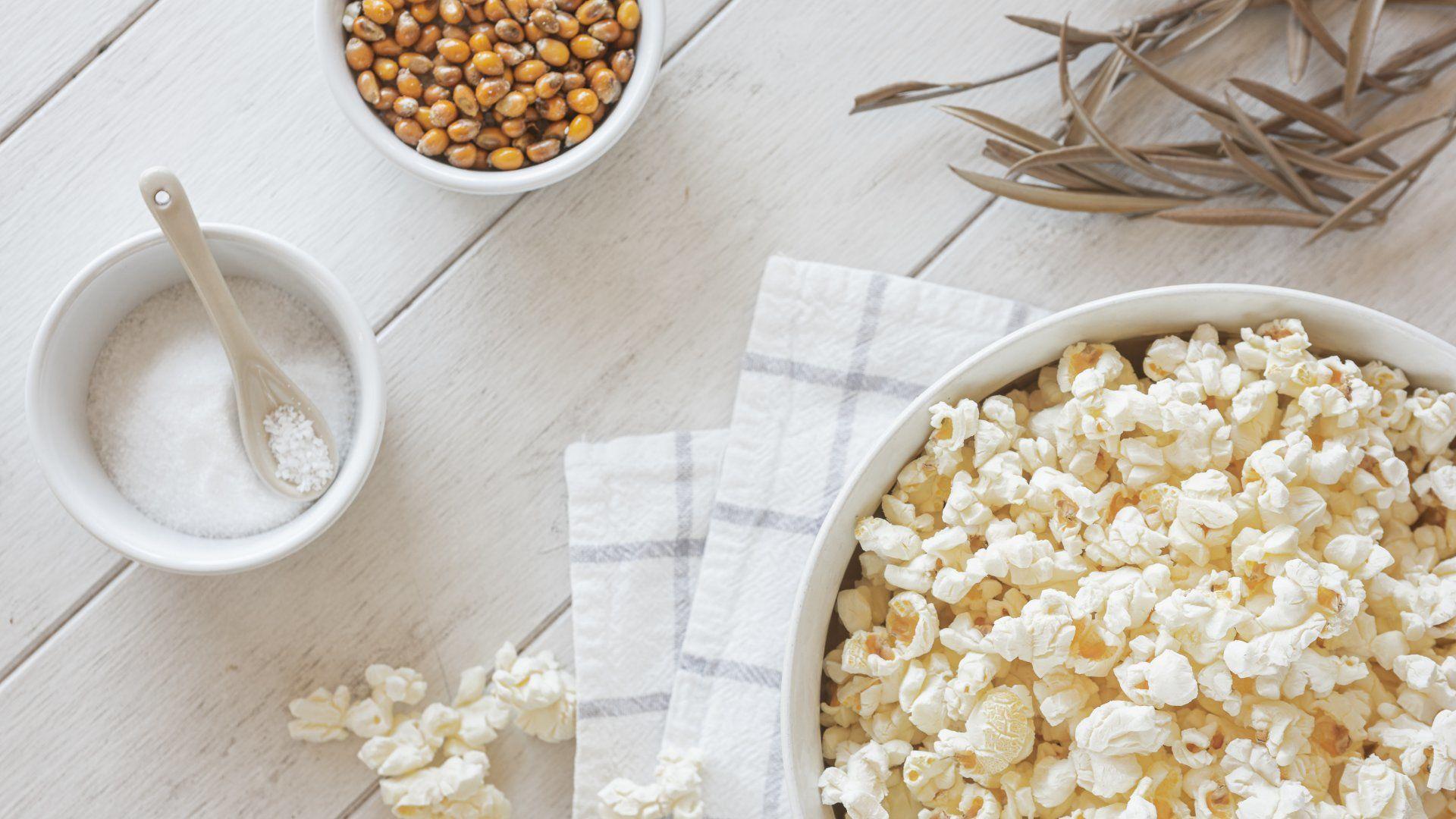 popcorn pattogatott kukorica
