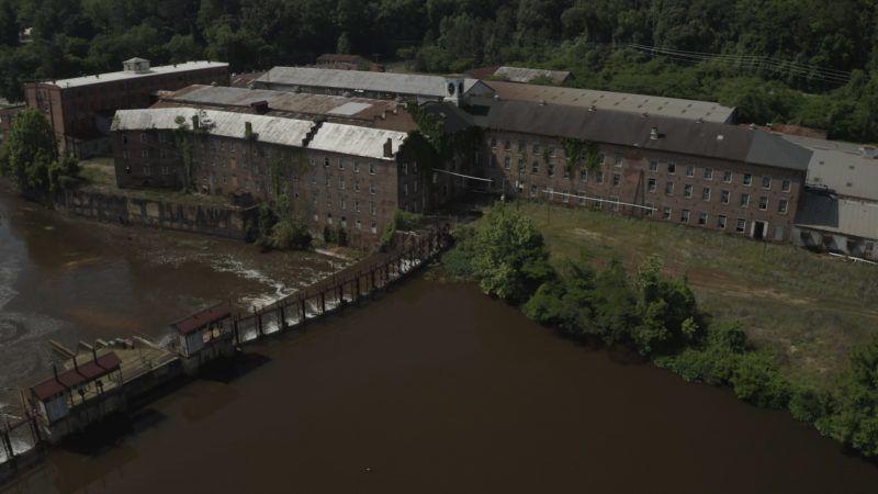 Elhagyatott gyár Amerikbáan