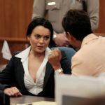Lindsay Lohan a bíróságon