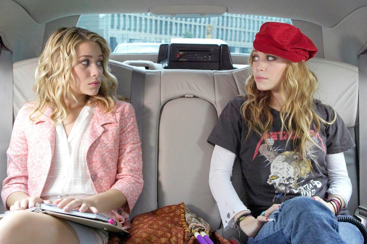 Mary-Kate Olsen, Ashley Olsen tizennyolc évesen