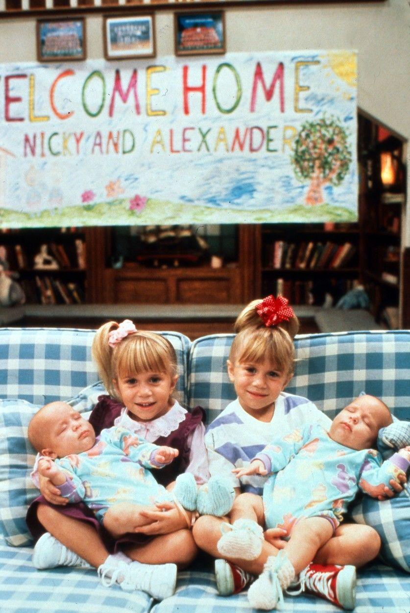 Mary-Kate Olsen, Ashley Olsen gyerekkorukban