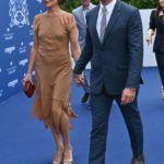 Simon Baker és felesége
