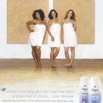 A Dove zavarbaejtő reklámja