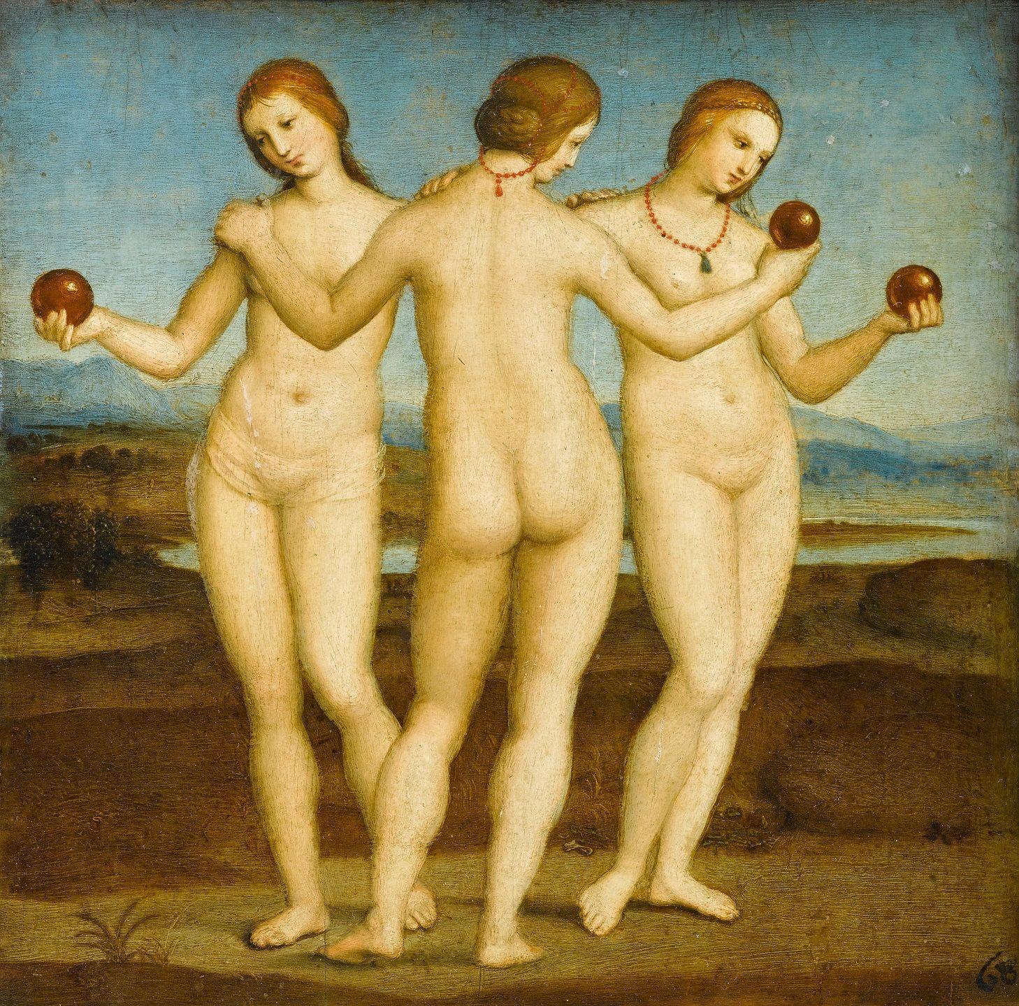 Raffaello: A három grácia (1505)