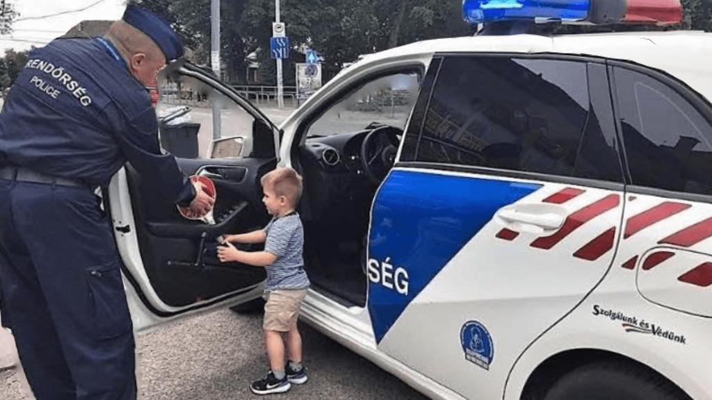 """""""Rendőr leszek!"""" - kiabálta a kisfiú, az egyenruhások azonnal megálltak"""