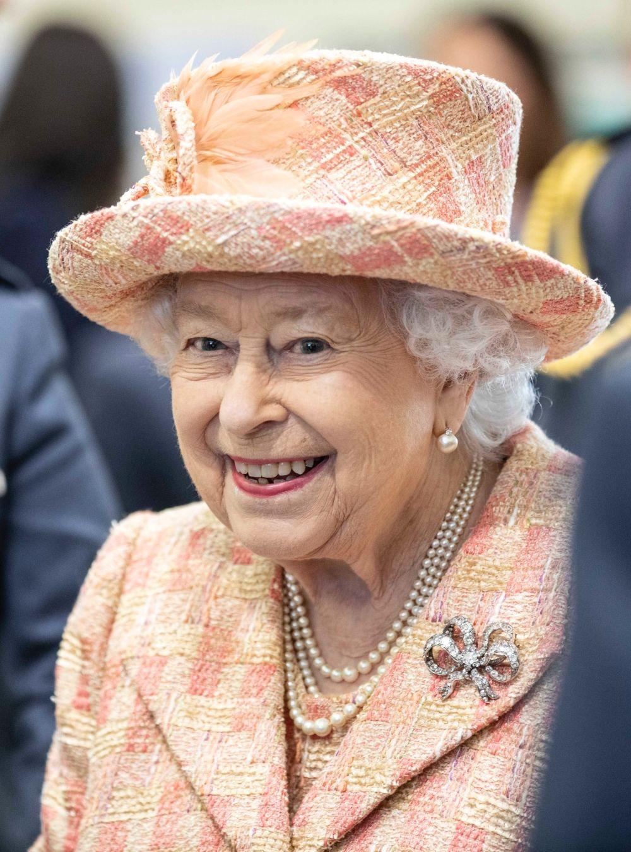 A királynő idén februárban