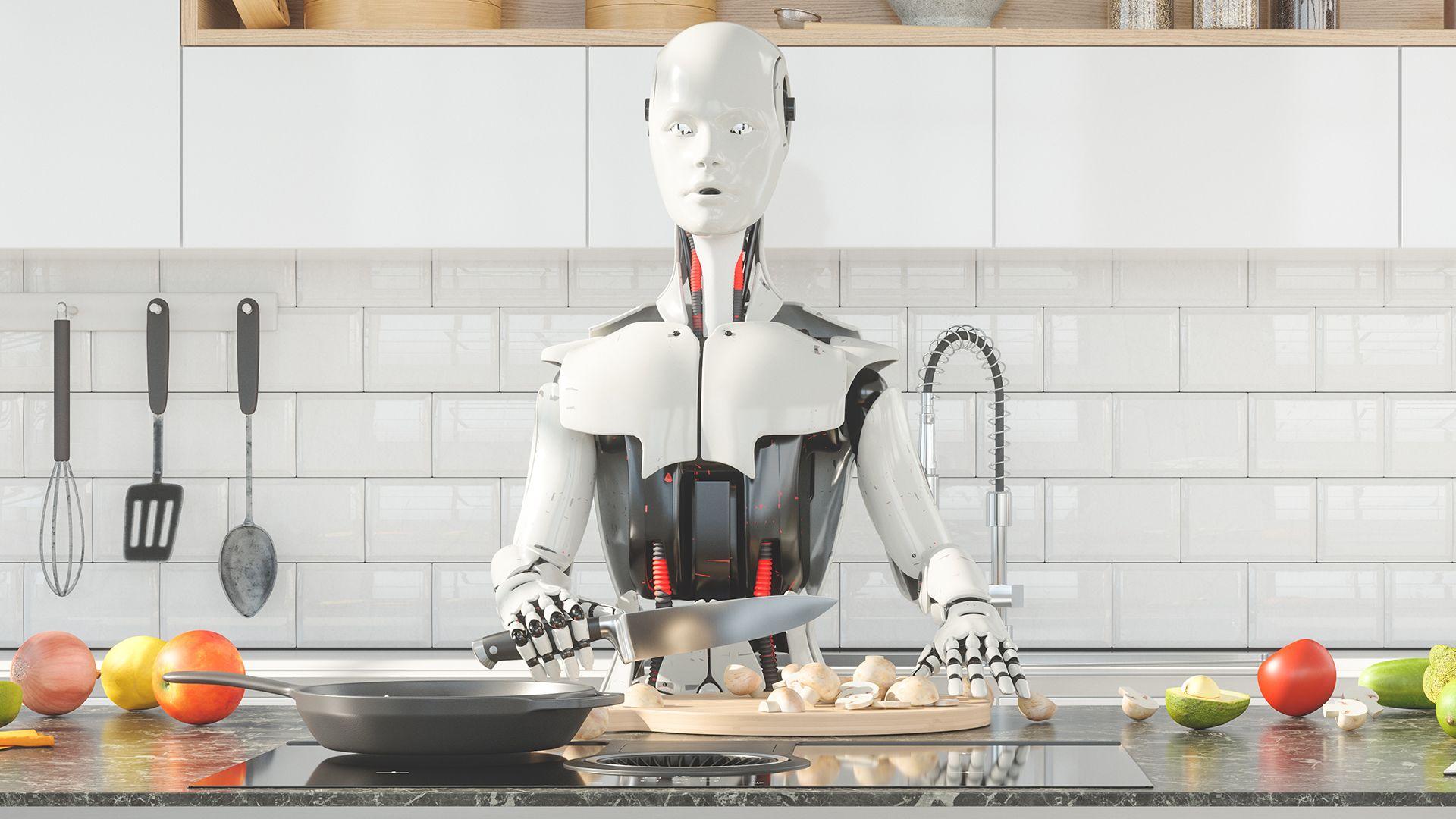 robotséfet tanítottak omlettet sütni