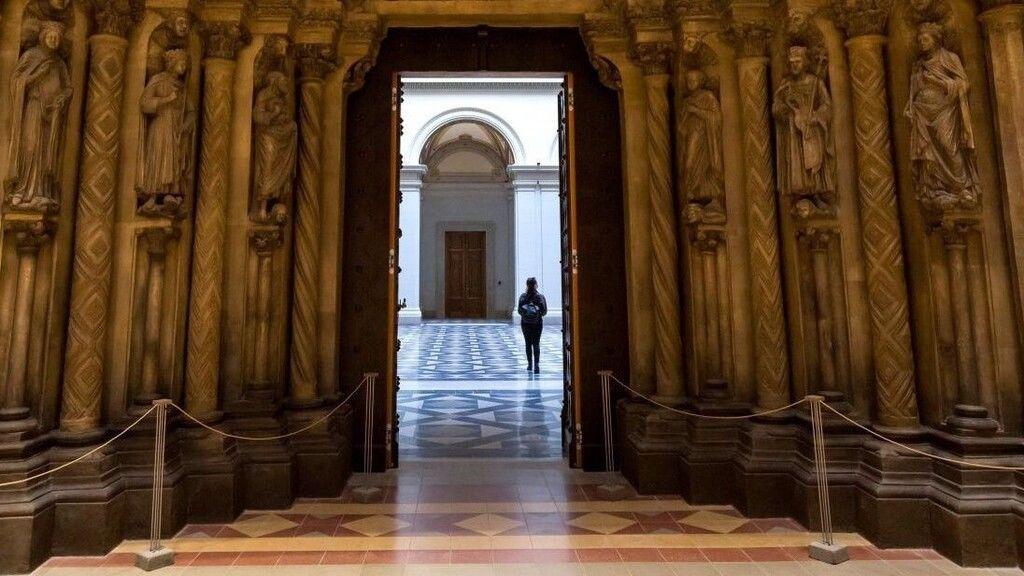 Teljesen beázott a nagy esőzésben a Szépművészeti Múzeum Román Csarnoka