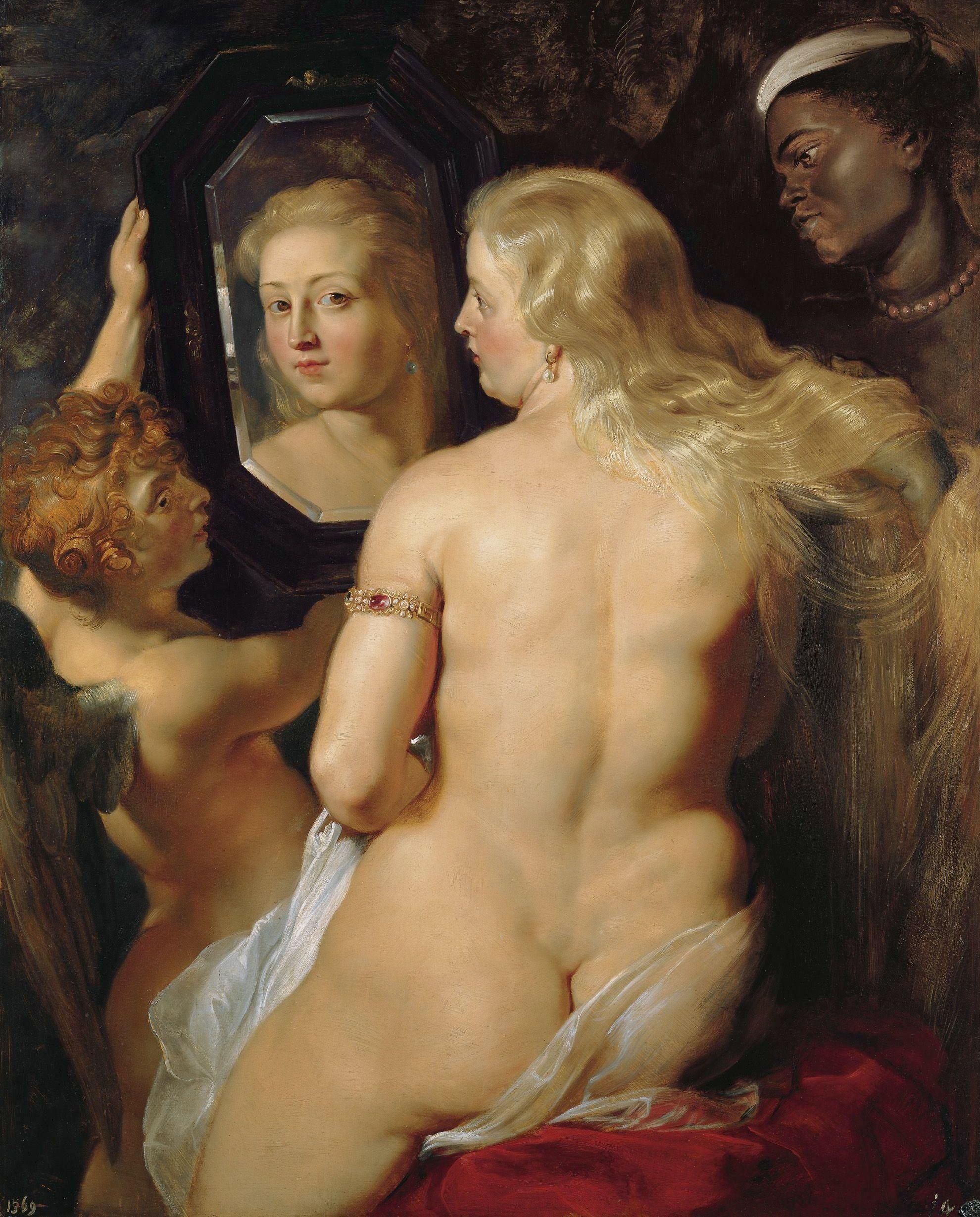 Rubens: Vénusz a tükör előtt (1615)
