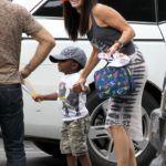 Sandra Bullock a fiával, Louis-zal