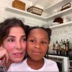 Sandra Bullock lánya, Laila idén nyolcéves