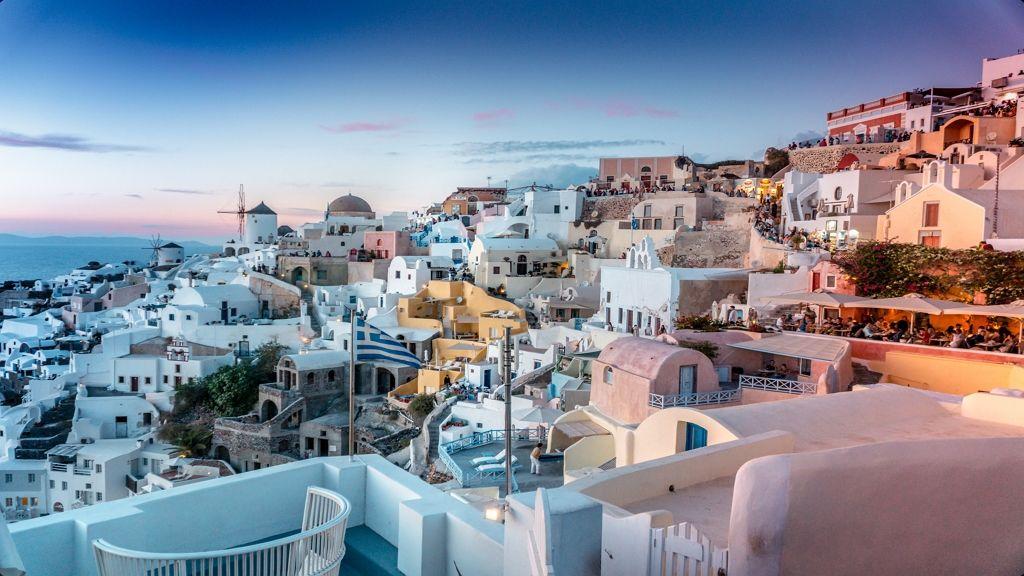 Santorini lesz az egyik új Wizz Air úti cél Budapestről.