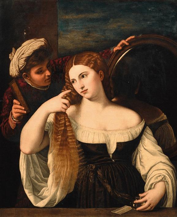 Tiziano Vecellio vörösét irigyelték