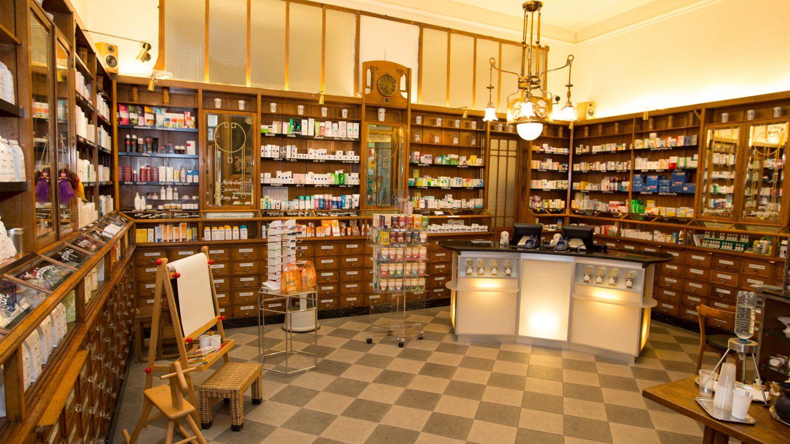 Szerecsen Gyógyszertár Mohren Apotheke Bécs