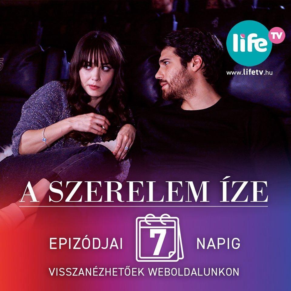 Can Yaman és Özge Gürel a Szerel íze török sorozatban a Life TV műsorán