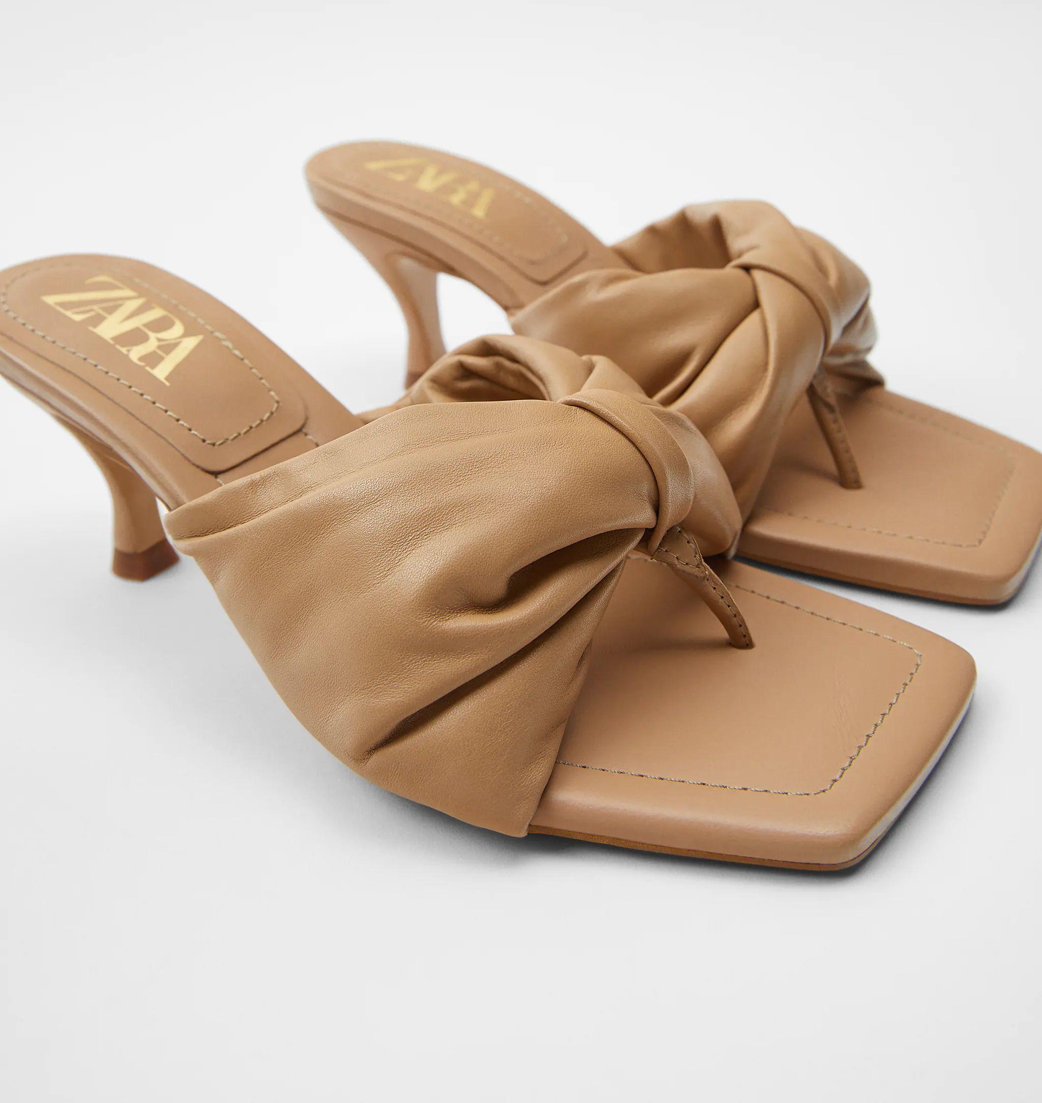 tanga papucs - Zara