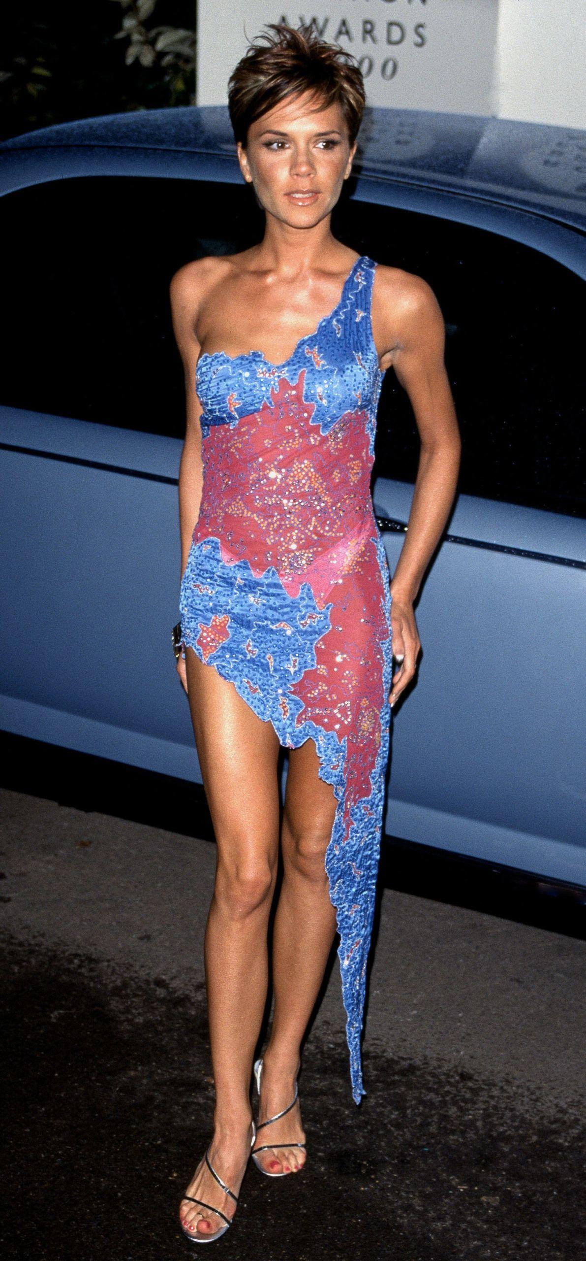 Victoria Beckham a Rover British Fashion Awards gáláján