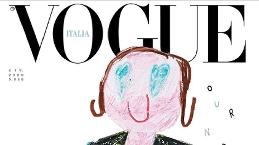 Gyerekek rajzolták a Vogue különkiadásának címlapjait