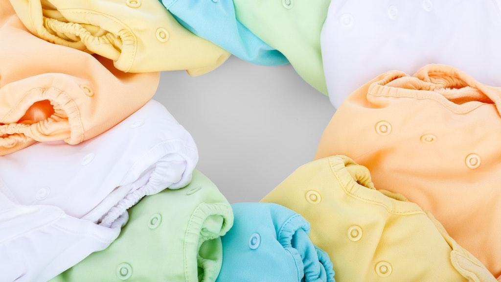 Nem a legkényelmesebb a mosható pelenka, de környezettudatos (Fotó: Pexels)