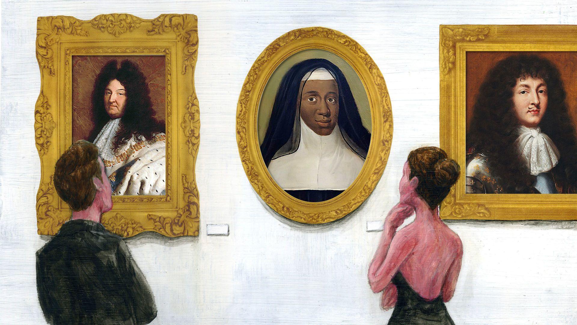Fekete bőrű apáca lehetett XIV. Lajos eltitkolt lánya