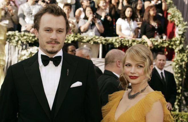 Heath Ledger és Michelle Williams