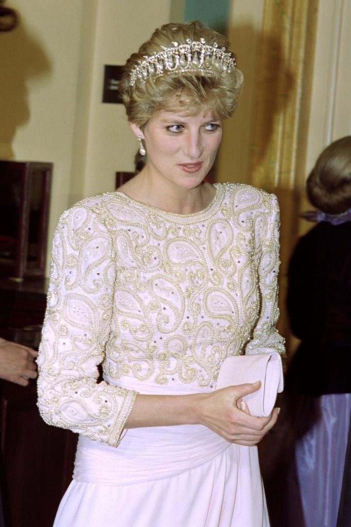 Diana hercegné és a Cambridge tiara.
