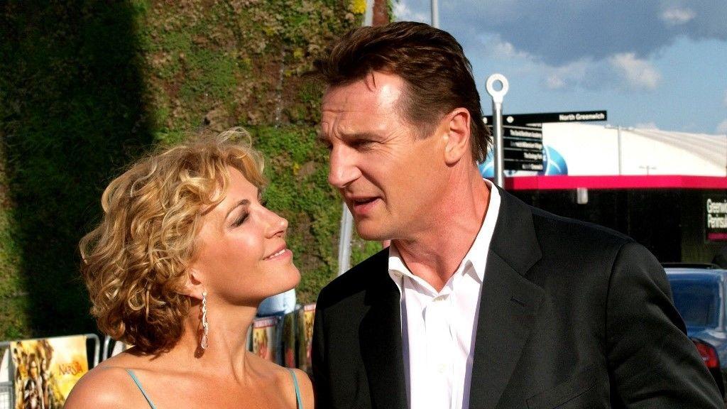 Liam Neeson és Natasha Richardson