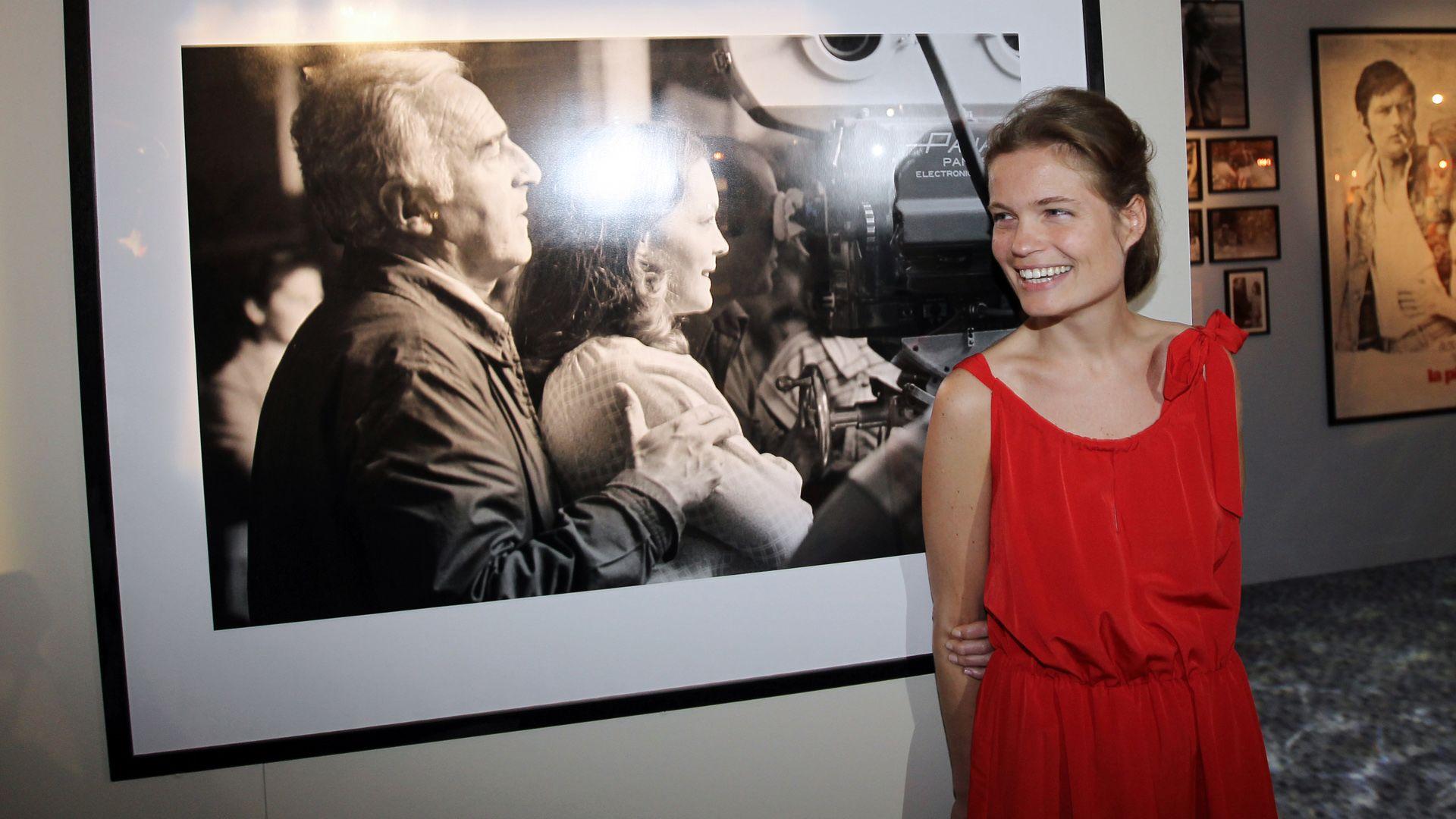 Ő Romy Schneider gyönyörű lánya, Sarah